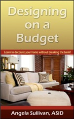 Ebook cover: Designing on a Budget. Decorating Your Home Interior Cheap!