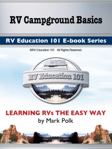 Ebook cover: RV Campground Basics ebook