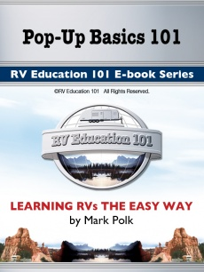 Ebook cover: RV Education 101's - Pop-Up Basics 101