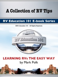 Ebook cover: 101 Tips for RVers