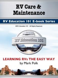 Ebook cover: RV Preventive Maintenance Checks for Motor Homes