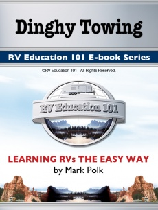 Ebook cover: RV Education 101's - Dinghy Towing