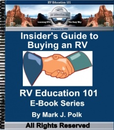 Ebook cover: How to Buy an RV,Before you Buy it