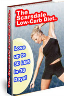 Ebook cover: Scarsdale Low-Carb Diet