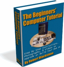 Ebook cover: The Beginners' Computer Tutorial