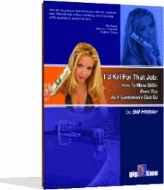 Ebook cover: I'd Kill For That Job