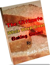 Ebook cover: Whole Wheat Bread Baking Guide