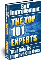 Ebook cover: Self Improvement: The Top 101 Experts that Help Us Improve Your Lives