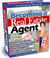 Ebook cover: Guide To Becoming A Successful Real Estate Agent