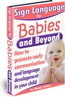 Ebook cover: Sign Language for Babies and Beyond