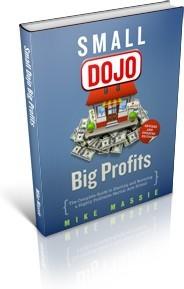 Ebook cover: Small Dojo, BIG Profits
