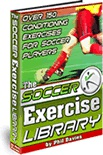 Ebook cover: Soccer Exercise Library