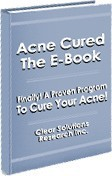 Ebook cover: Acne Cured The E-Book