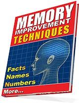 Ebook cover: Memory Boosting Report