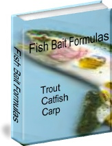 Ebook cover: Homemade Fishing Bait Recipes