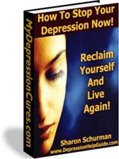 Ebook cover: Stop Your Depression Now