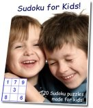 Ebook cover: Sudoku for Kids