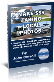 Ebook cover: Make money Taking Local Photos