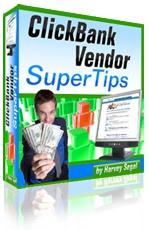 Ebook cover: ClickBank Vendor SuperTips