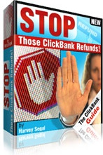 Ebook cover: Stop Those ClickBank Refunds