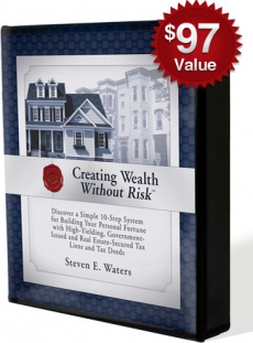 Ebook cover: Guaranteed Returns, Real Estate for Pennies on the Dollar.