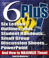 Ebook cover: 6 Bible lessons, class handout, and discussion