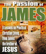 Ebook cover: The Passion of James