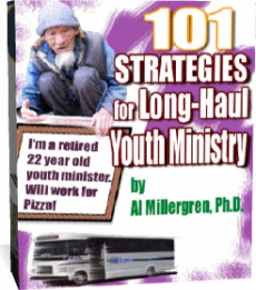 Ebook cover: 101 Strategies for Long Haul Youth Ministry