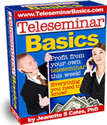Ebook cover: Teleseminar Basics