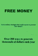 Ebook cover: The Free Money