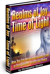 Ebook cover: Realms of Joy - Time of Light