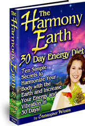 Ebook cover: The Harmony Earth 30 Day Energy Diet