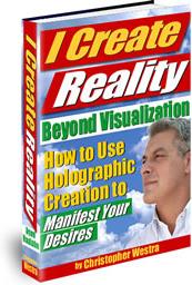 Ebook cover: I Create Reality