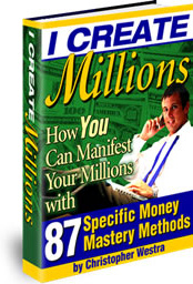 Ebook cover: I Create Millions