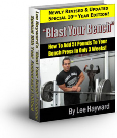 Ebook cover: Blast Your Bench