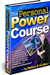Ebook cover: The Personal Power Course