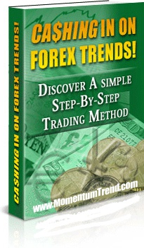 Ebook cover: Cashing In On Forex Trends!
