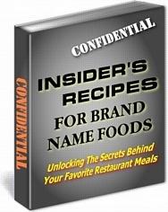 Ebook cover: 400 copycat recipes