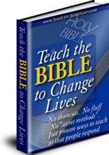 Ebook cover: Teach the Bible to Change Lives course
