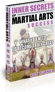 Ebook cover: Inner Secrets of Martial Arts Success