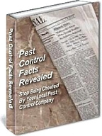 Ebook cover: Pest Control Facts Revealed