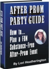 Ebook cover: After Prom Party Guide