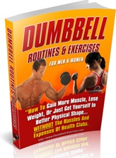 Ebook cover: Dumbbell Routines and Exercises