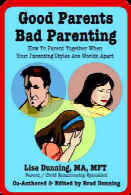 Ebook cover: Good Parents Bad Parenting