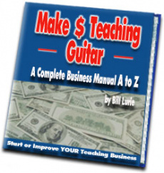 Ebook cover: Make and Teaching Guitar