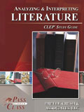 Ebook cover: Analyzing and Interpreting Literature CLEP test