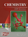 Ebook cover: Chemistry CLEP tests