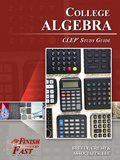 Ebook cover: College Algebra CLEP test