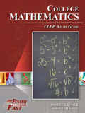 Ebook cover: College Mathematics CLEP test