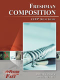 Ebook cover: Freshman College Composition CLEP Test